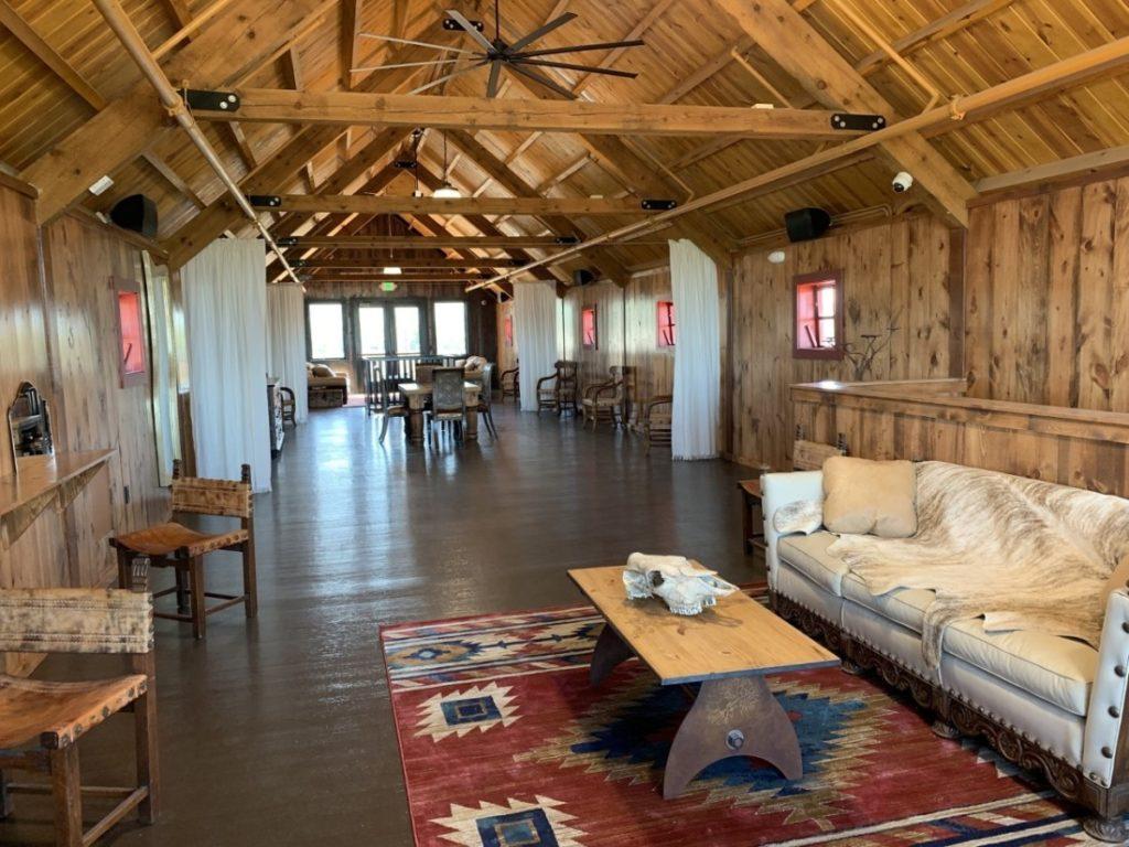 Second floor of Bonnie's Barn. Photo by Robert Eliason.