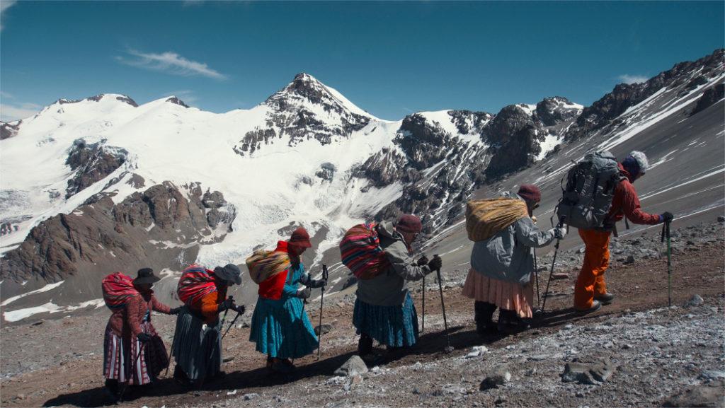 "Still from ""Cholitas,"" courtesy of the Watsonville Film Festival."