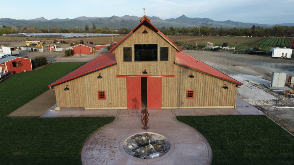 Bonnie's Barn at Swank Farms. Photo by Robert Eliason.