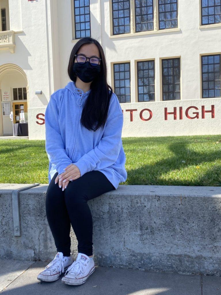 SBHS senior Cathy Nguyen. Photo by Olivia Madera.