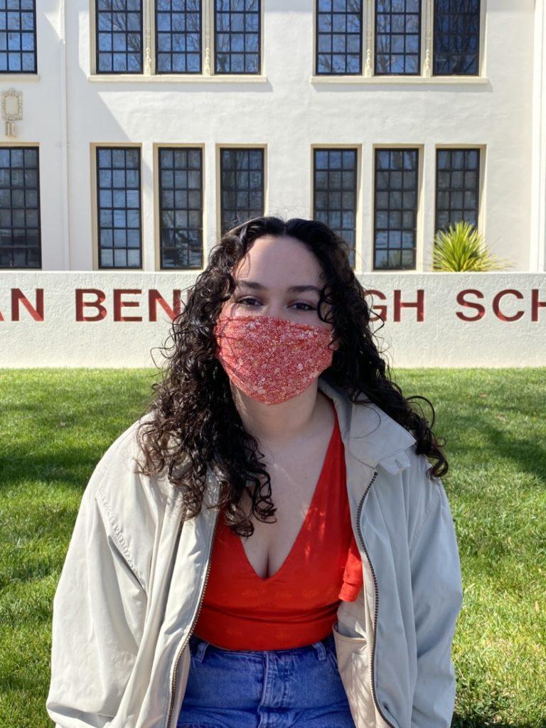 San Benito High School senior Kiani McKeon. Photo by Olivia Madera.