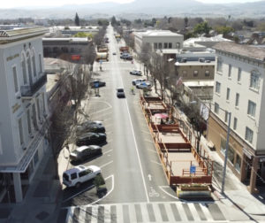 Downtown Hollister. Photo by Jake Medina.