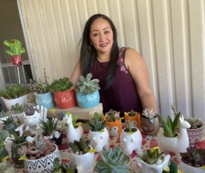 Norma Ortega of Normita's Succulentas. Photo courtesy of Norma Ortega.