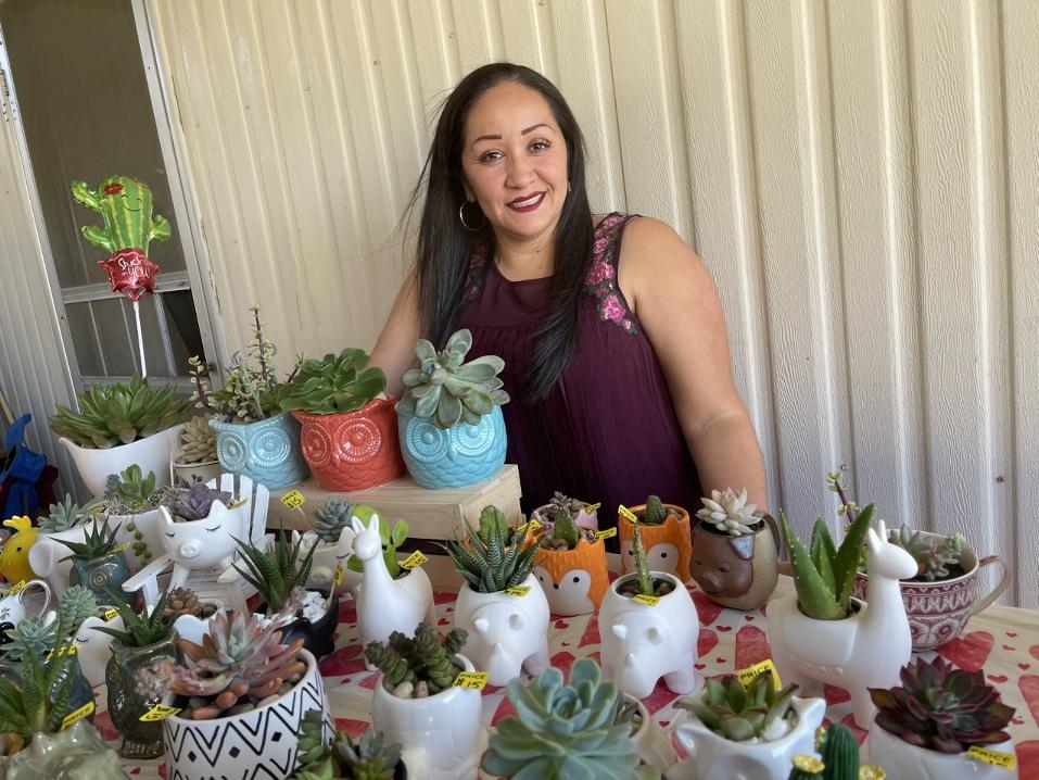Norma Ortega of Normita's Succulentas. Photo courtesy of Norma Ortega.