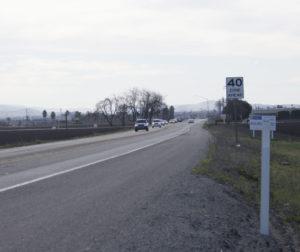 Highway 25 between San Felipe and Briggs Road. Photo by Noe Magaña.