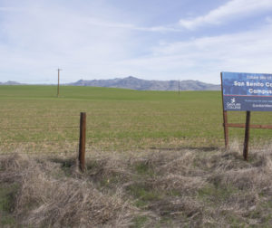 Site of Gavilan College's Fairview Corners campus in San Benito County on March 7, 2021. Photo by Noe Magaña.