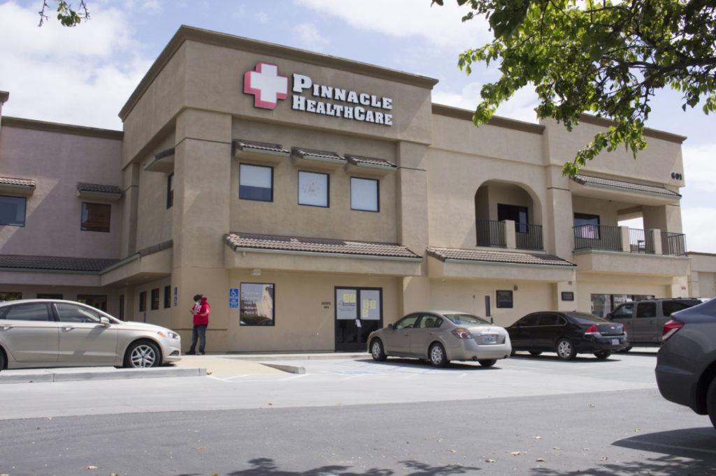 Pinnacle Healthcare in Hollister. Photo by Noe Magaña.