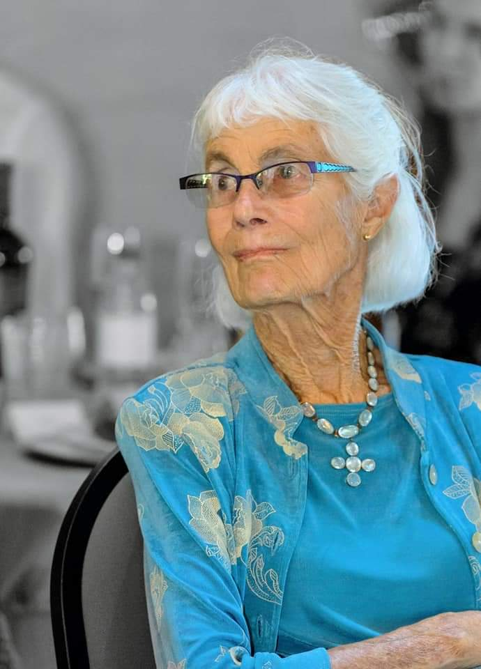 Peggy Kingman in 2020, the same year she received the Laurie Aretsky Bailie Social Justice Award from the Motherlode Martin Luther King, Jr. Committee. Kingman died at 87 on the MLK holiday. Photo courtesy of Shelley Abruzzini and the Union Democrat.
