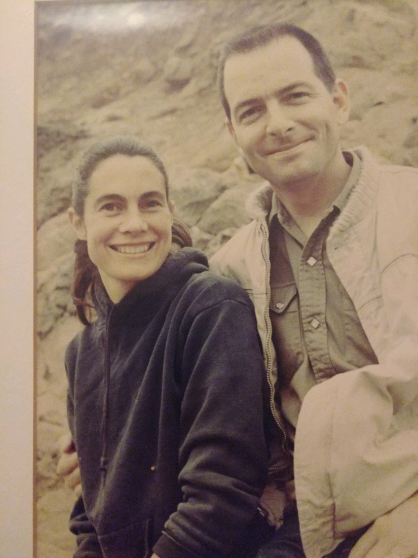 Peggy Kingman and her husband, Stuart Kingman, photographed near their former home south of Hollister adjacent to Pinnacles National Park. Photo courtesy of Shelley Abruzzini and the Union Democrat.