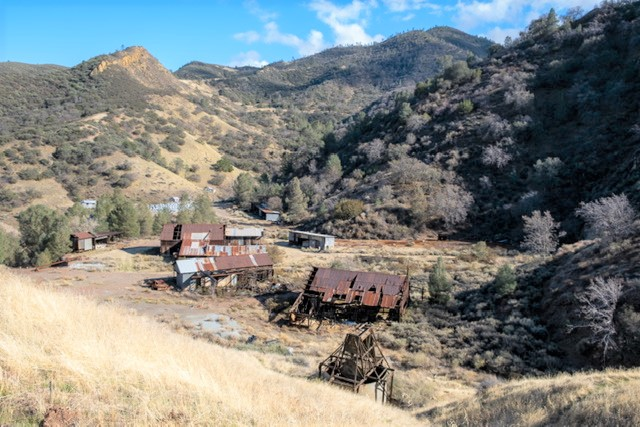 Little is left of the once bustling mining town after the 2010 fire. Photo courtesy of Hannah McKelson.