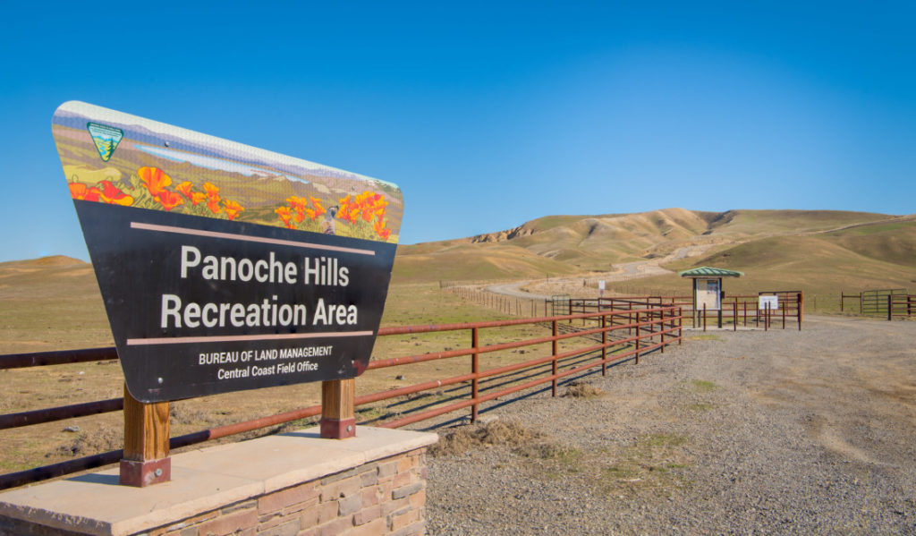 Panoche Hills Recreation Area. Photo courtesy of Bureau of Land Management.