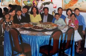 Fu Family celebrated the grandmother's birthday at Cheung Sheng in 2011. Photo courtesy of Brenda Fu.