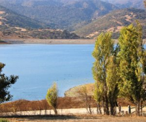 File photo of San Justo Reservoir in 2021. Photo by John Chadwell.