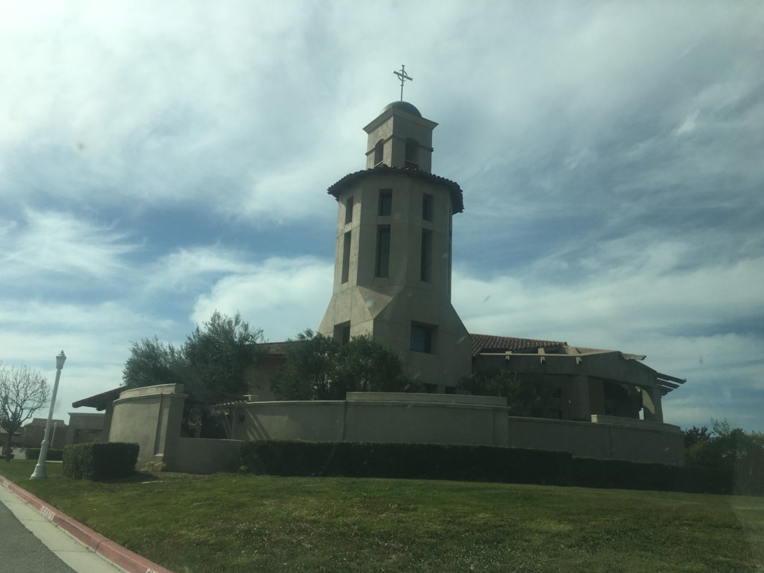Saint Benedict's in Hollister. Photo by Andrew Pearson.