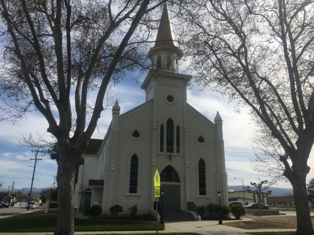 Sacred Heart Catholic Church in Hollister. Photo by Andrew Pearson.
