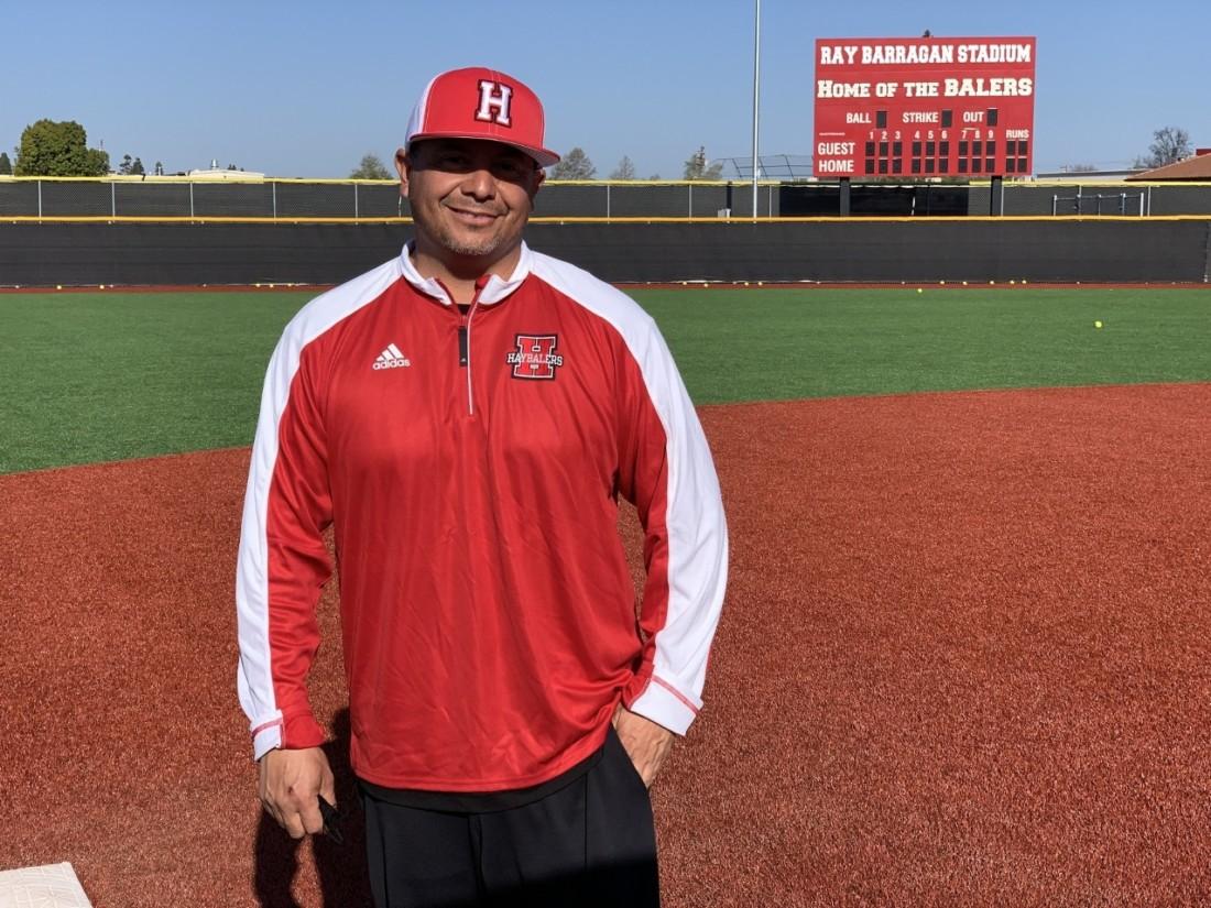 Coach Andrew Barragan. Photo by Robert Eliason