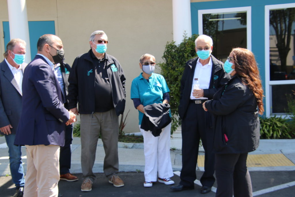 Congressman Jimmy Panetta (D-Carmel) stopped at the San Benito Health Clinic while touring the county. Photo by John Chadwell.