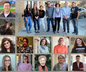 BenitoLink reporters, staff, interns and board members. Photo compilation by Robert Eliason