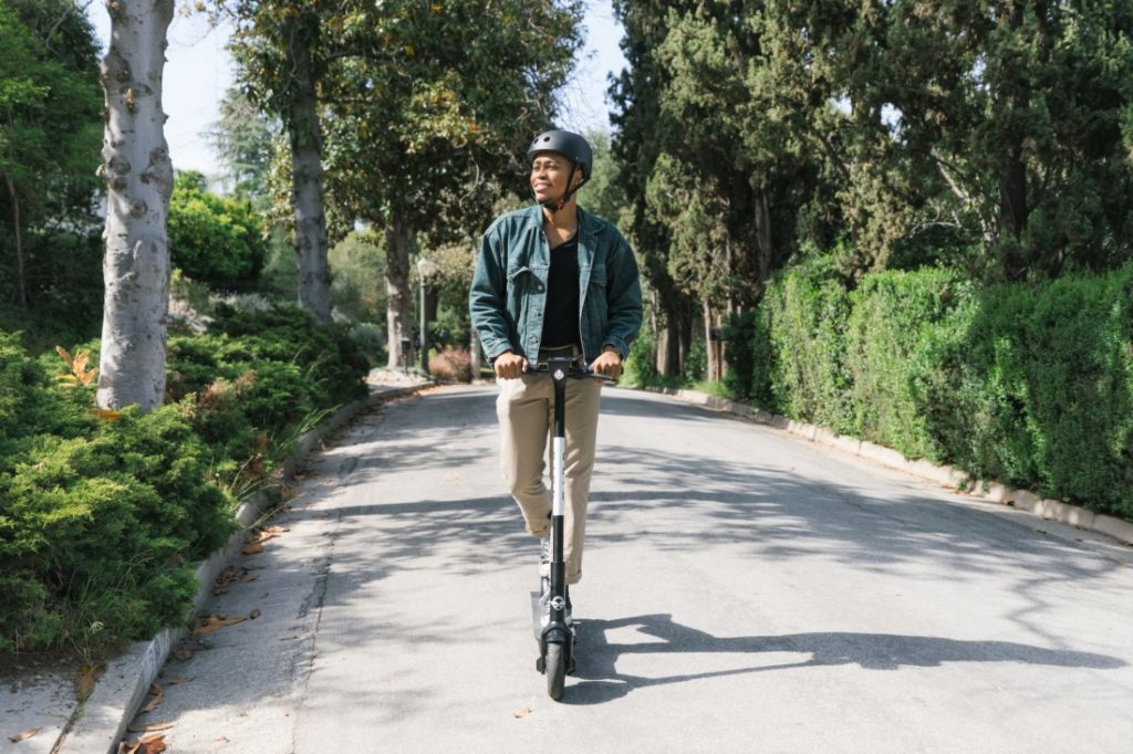 The Santa Monica-based company is proposing a pilot program for Hollister with 100 e-scooters. Photo courtesy of Bird.