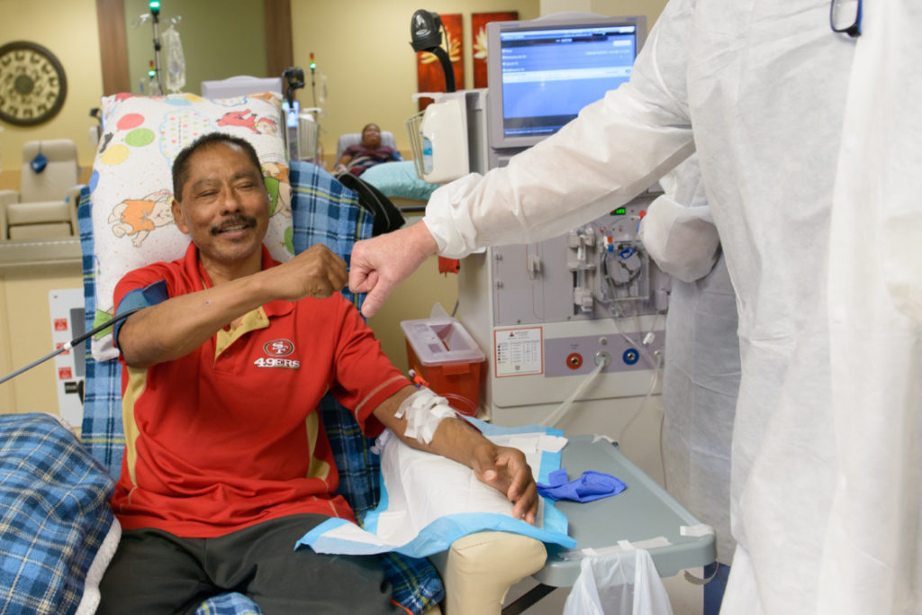 Some residents who need dialysis every week have been traveling out of the county for over 20 years. Photo provided by Satellite Healthcare.