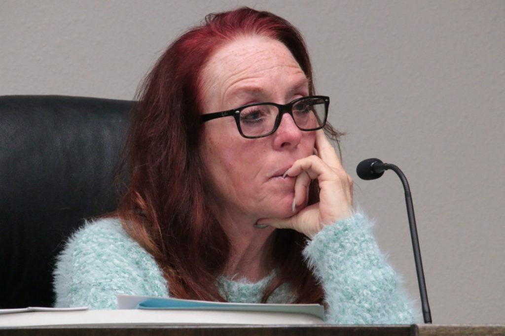 Honor Spencer submitted her letter of resignation April 1 and April 19 was her last council meeting. File photo by John Chadwell.