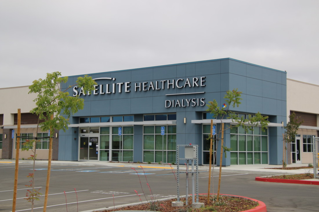 The opening date of the new Satellite Healthcare dialysis center in Hollister has yet to be determined, but once it does it will save those who need dialysis hours traveling out of the county for treatment. Photo by John Chadwell.
