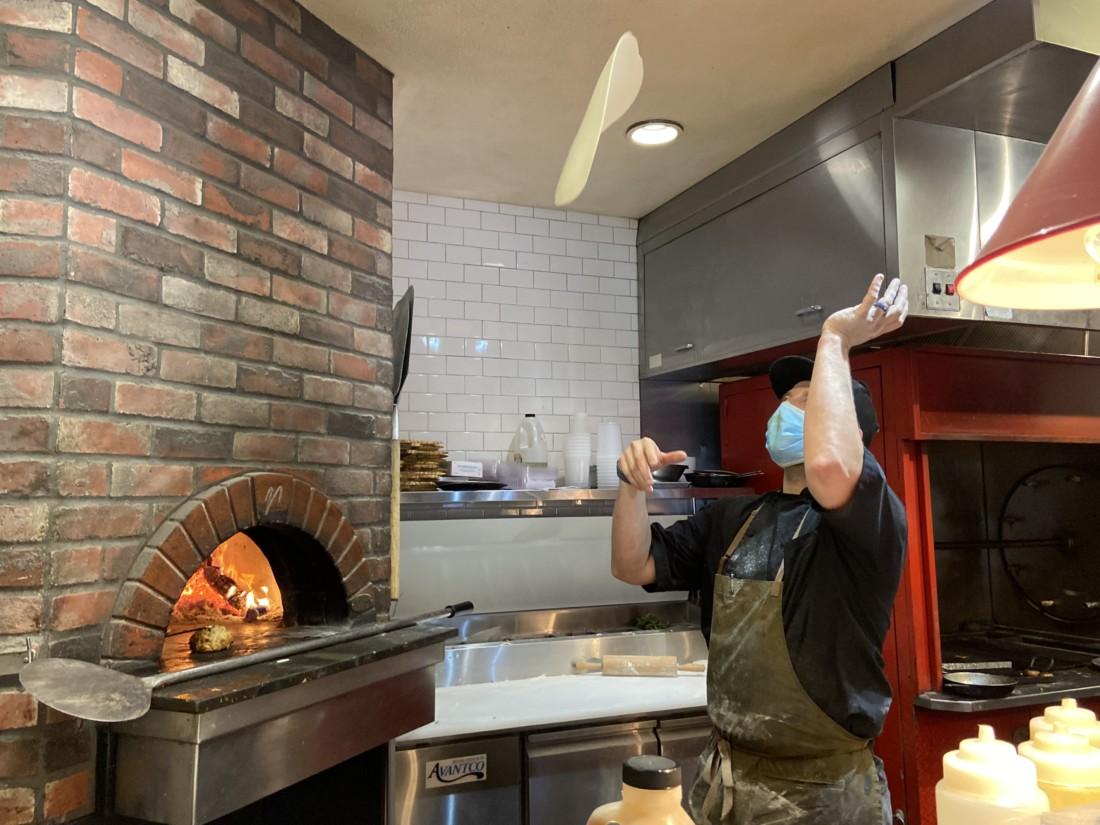 Lance Ramhurst knows his way around a kitchen. Photo by Jenny Mendolla Arbizu.