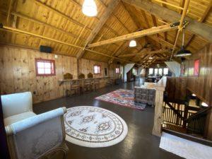 La suite nuptiale du deuxième étage de Bonnie's Barn. Photo de Jenny Mendolla Arbizu.