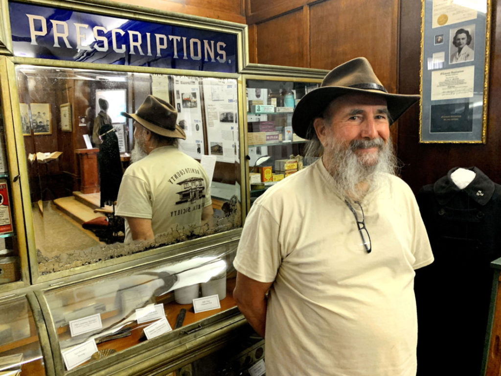 San Benito County Historical Society President John Wrobel. Photo by Robert Eliason.