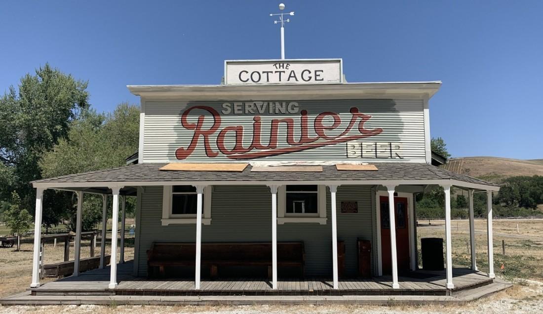 The Cottage Bar. Photo by Robert Eliason.