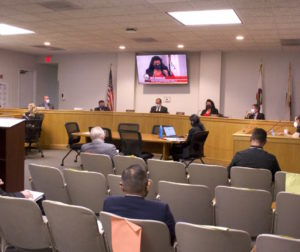 San Benito County Board of Supervisors during the May 25 meeting. Photo by Noe Magaña.
