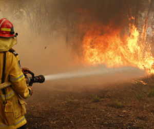 In 2020, approximately 275 wildland fires burned nearly 200,000 acres of Bureau managed land in California. Photo courtesy of Cal Fire.