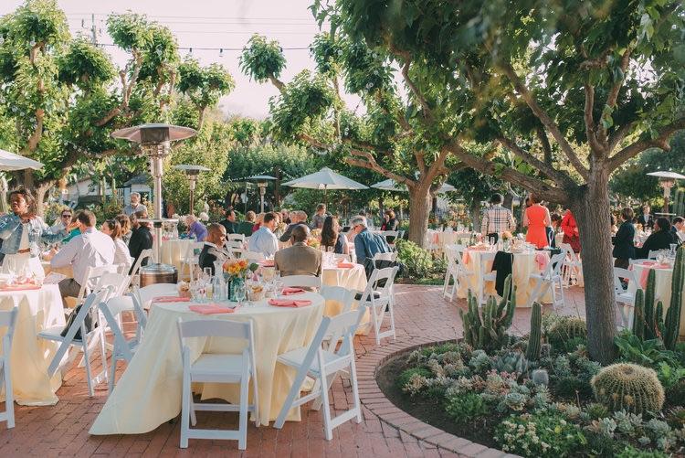 An outdoor wedding (prior to the spread of COVID-19) at Jardines de San Juan. Photo courtesy of Jardines de San Juan.