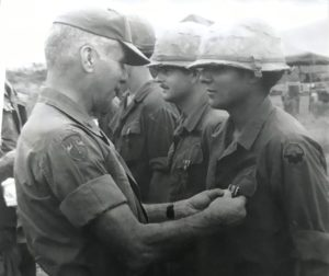 Bernie Ramirez turned 19 years of age in Vietnam. On that same day he witnessed one of his best friends killed in an explosion. He lost two friends on the same day. He received a medal for valor in action along the Demilitarized Zone and began suffering from PTSD 10 years after being discharged. Photo courtesy of Bernie Ramirez.