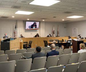 Board of supervisors on June 8. Photo by Noe Magaña.