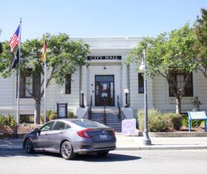 File photo of Hollister City Hall. Photo by Noe Magaña.