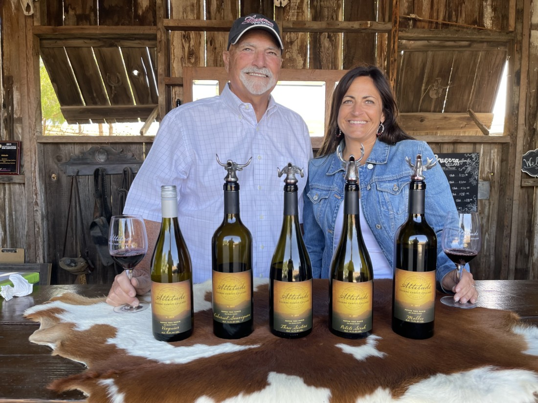Eat, drink, savor: Guerra Family Cellars is part hobby, part labor of love