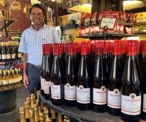 Joe Zanger at Casa de Wine. Photo by Robert Eliason.