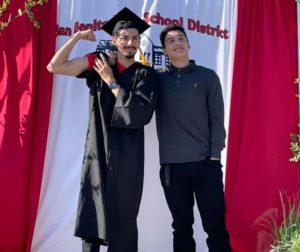 Adult education graduation at San Benito High School. Photo courtesy of San Benito High School.