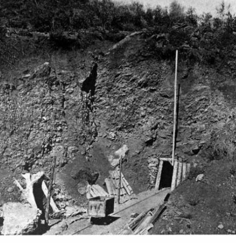 The Benitoite Mine. Photo courtesy of Suzie Harlow.