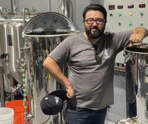 Alex DeLeon at Mad Pursuit Brewing Co. Photo by Robert Eliason.