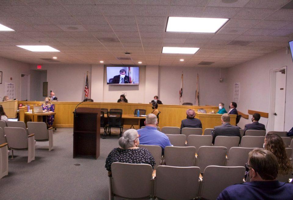 Board of Supervisors on July 27. Photo by Noe Magaña.