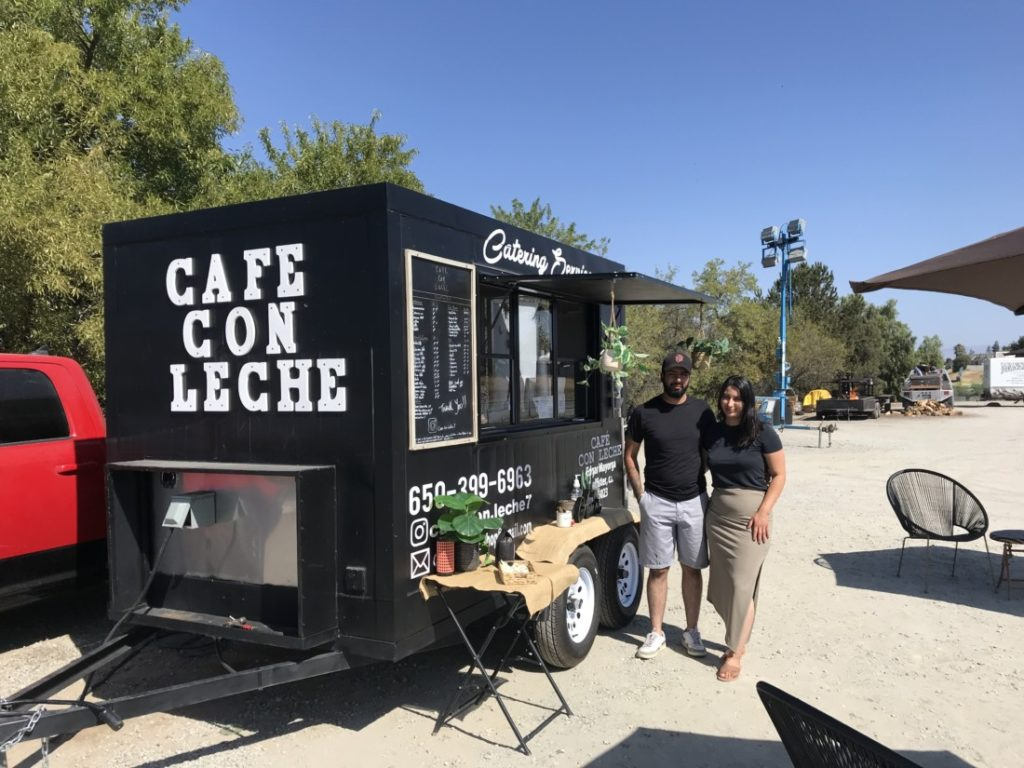 Edgar and Diana Mayorga, owners of Café Con Leche. Photo by Frank Perez.