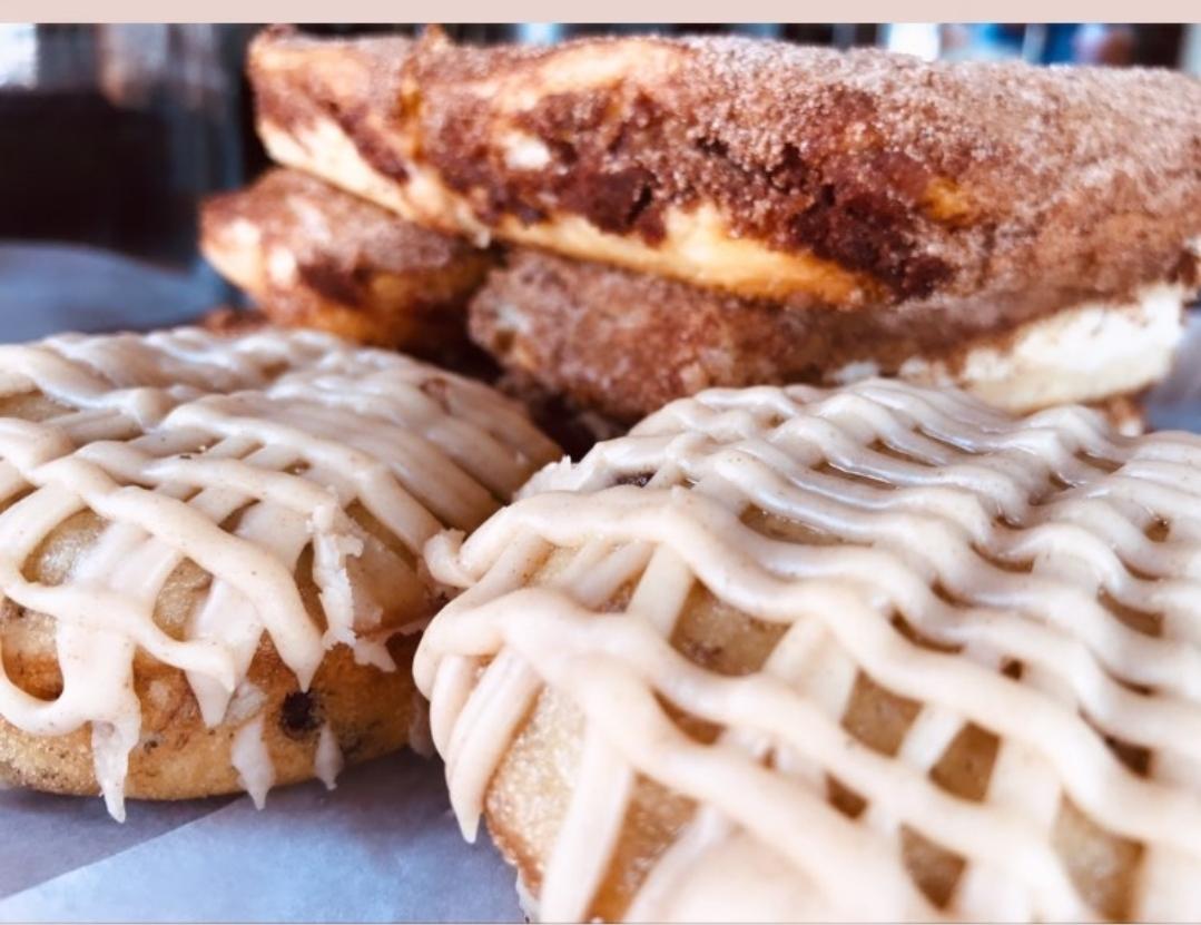 Churro Cheesecake and Banna Nut Donuts. Photo courtesy of Roxy Muñoz.