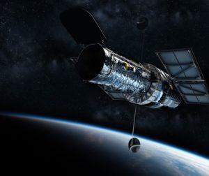 Hubble Telescope. Photo courtesy of Pixabay.