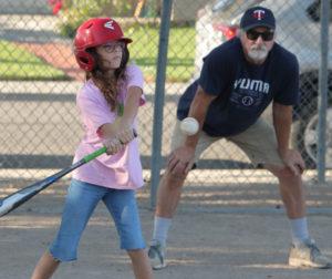 Sandlot Baseball. Photo by Robert Eliason.