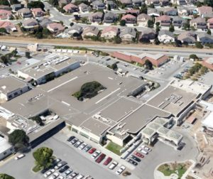 The board of directors approved the resolution to spend up to $2 million to replace Hazel Hawkins Memorial Hospital's roof. Google Earth photo.