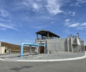 The West Hills Water Treatment Plant. Photo by Robert Eliason.