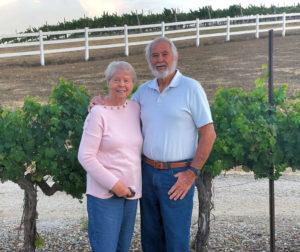 Joyce and Richard Kline of AnnEugene Wines. Photo by Robert Eliason.