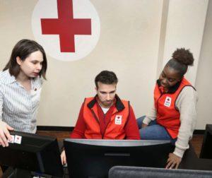 December 17, 2019. Louisville, Kentucky. Hero Care Call Center. Photo by Bill Wine/American Red Cross